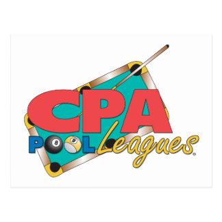 CPAのロゴのデザイン ポストカード