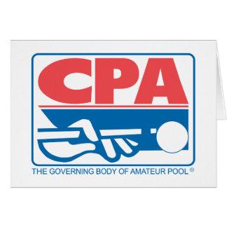 CPAのロゴ カード
