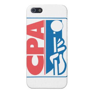 CPAのロゴ iPhone SE/5/5sケース