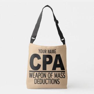 CPA名前をカスタムする及び色のバッグ クロスボディバッグ