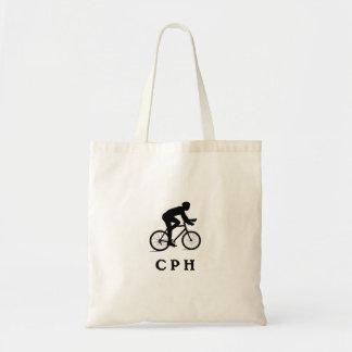 CPHを循環させるコペンハーゲンデンマーク トートバッグ