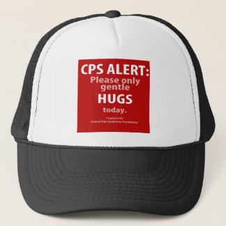 CPS警報: 抱擁しか今日温和にしないで下さい キャップ