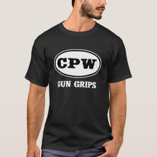 CPW銃のグリップ Tシャツ