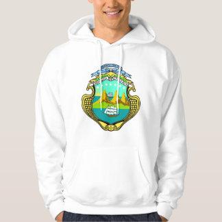 CRコスタリカの紋章付き外衣 パーカ