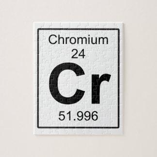 Cr -クロム ジグソーパズル