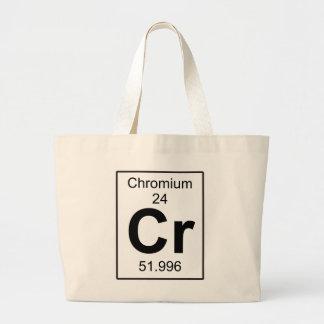 Cr -クロム ラージトートバッグ
