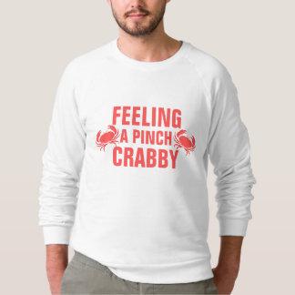 Crabbyピンチを感じます スウェットシャツ