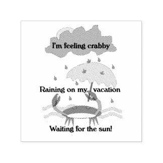 Crabby俳句 セルフインキングスタンプ