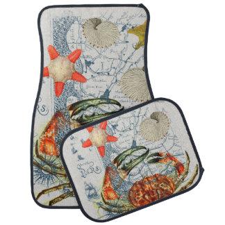 crabby地図のヒトデ カーマット
