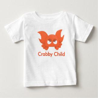 Crabby子供Tの乳児 ベビーTシャツ