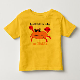 Crabby! トドラーTシャツ
