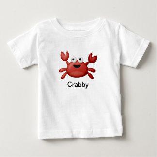 Crabby ベビーTシャツ