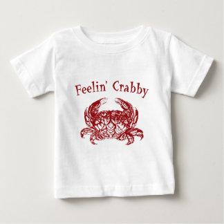 Crabby Feelin ベビーTシャツ