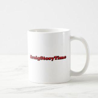 CraigStoryTime コーヒーマグカップ