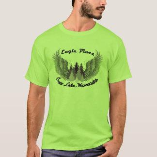 crane湖、MNのワシのマツ Tシャツ