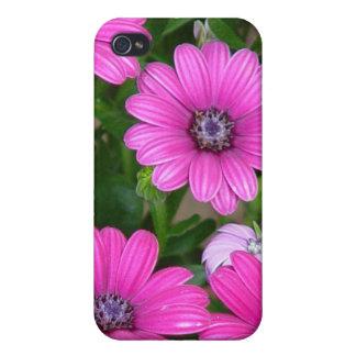Cranesbillのゼラニウム(ピンクの花)のiphone 4ケース iPhone 4 カバー