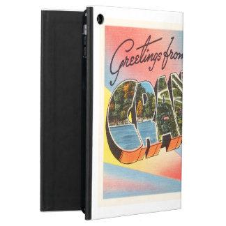 CranfordニュージャージーNJのヴィンテージ旅行郵便はがき iPad Airケース
