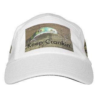 Crankinの古い魚釣りの魅惑を保って下さい ヘッドスウェットハット