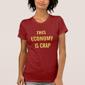 crappy経済 tシャツ