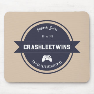 CrashleeTwinsのヴィンテージ マウスパッド