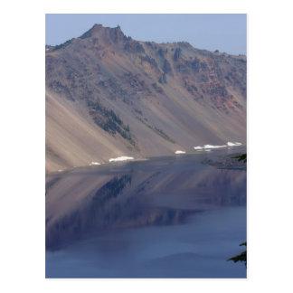 crater湖の反射 ポストカード
