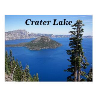 crater湖の国立公園の写真 ポストカード