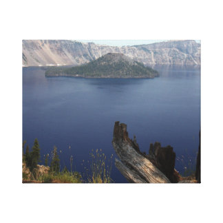 crater湖ヴィスタ キャンバスプリント