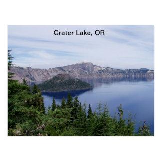 crater湖、または ポストカード