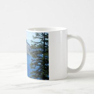 crater湖、オレゴン コーヒーマグカップ