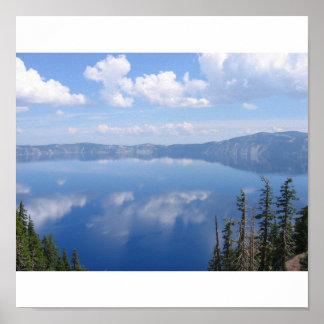 crater湖、オレゴン ポスター