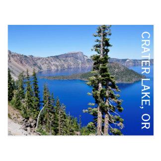 crater湖、オレゴン ポストカード