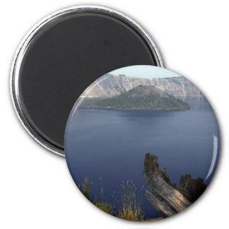 crater湖、オレゴン 冷蔵庫マグネット