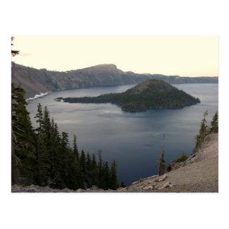crater湖 ポストカード