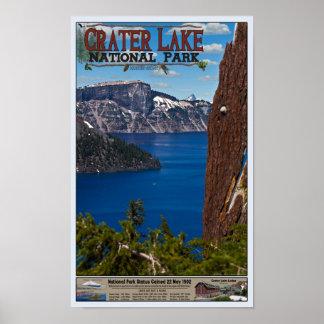 crater湖-情報ポスター ポスター