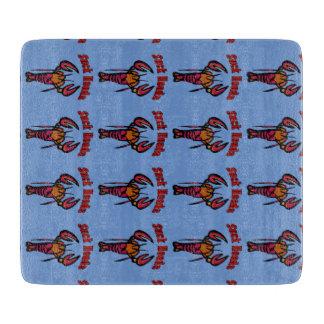 Crawfishのタイルのヴィンテージのスタイル カッティングボード