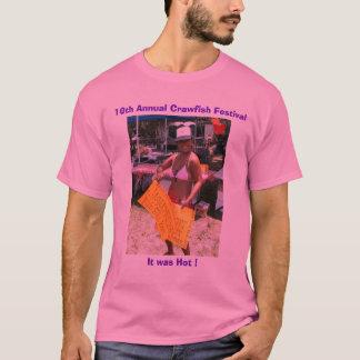 CrawfishのフェスティバルのTシャツ-女の子 Tシャツ