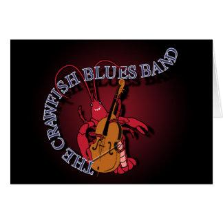 Crawfishのブルー・バンドのコントラバス奏者 カード
