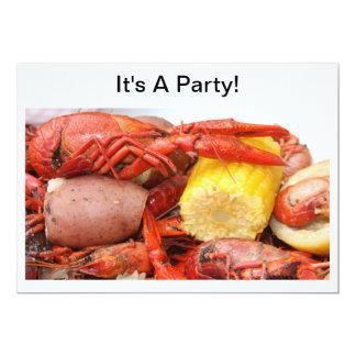 crawfishの招待 カード