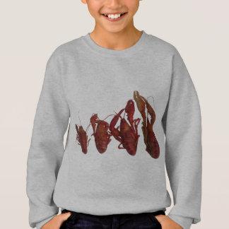 crawfishの携帯電話信号 スウェットシャツ