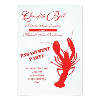 Crawfishの沸騰婚約パーティ カード