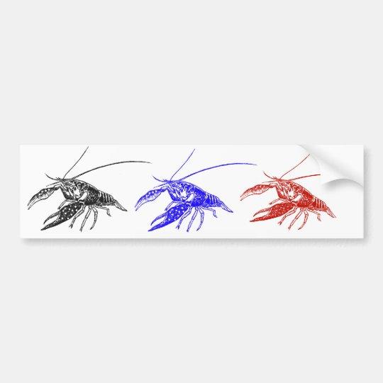crawfish  (crayfish) バンパーステッカー