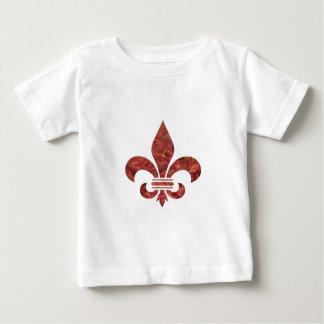 Crawfish Fleu de Lis ベビーTシャツ