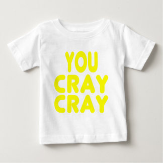 Cray Crayの黄色いインターネットのミーム ベビーTシャツ