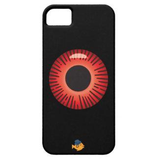 CRAZYFISHの眼球の目のiPhone iPhone SE/5/5s ケース