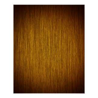 Create Your Own Poster on Sunburst Wood Background ポスター
