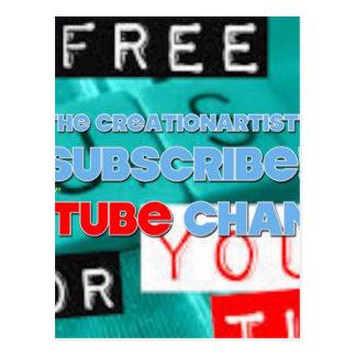 Creationartist7 Youtubeチャネル326 ポストカード