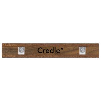 Credleのオフィスの定規 くるみ 定規