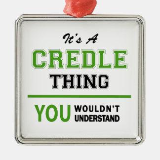 Credleプロダクト メタルオーナメント