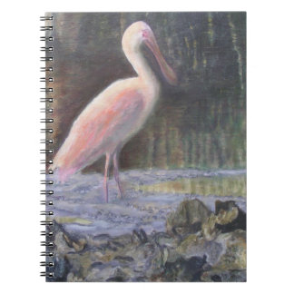 CREEKSIDEのSPOONBILLの写真のノート ノートブック