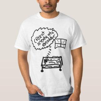 Crescatのscientiaのvitaのexcolatur Tシャツ